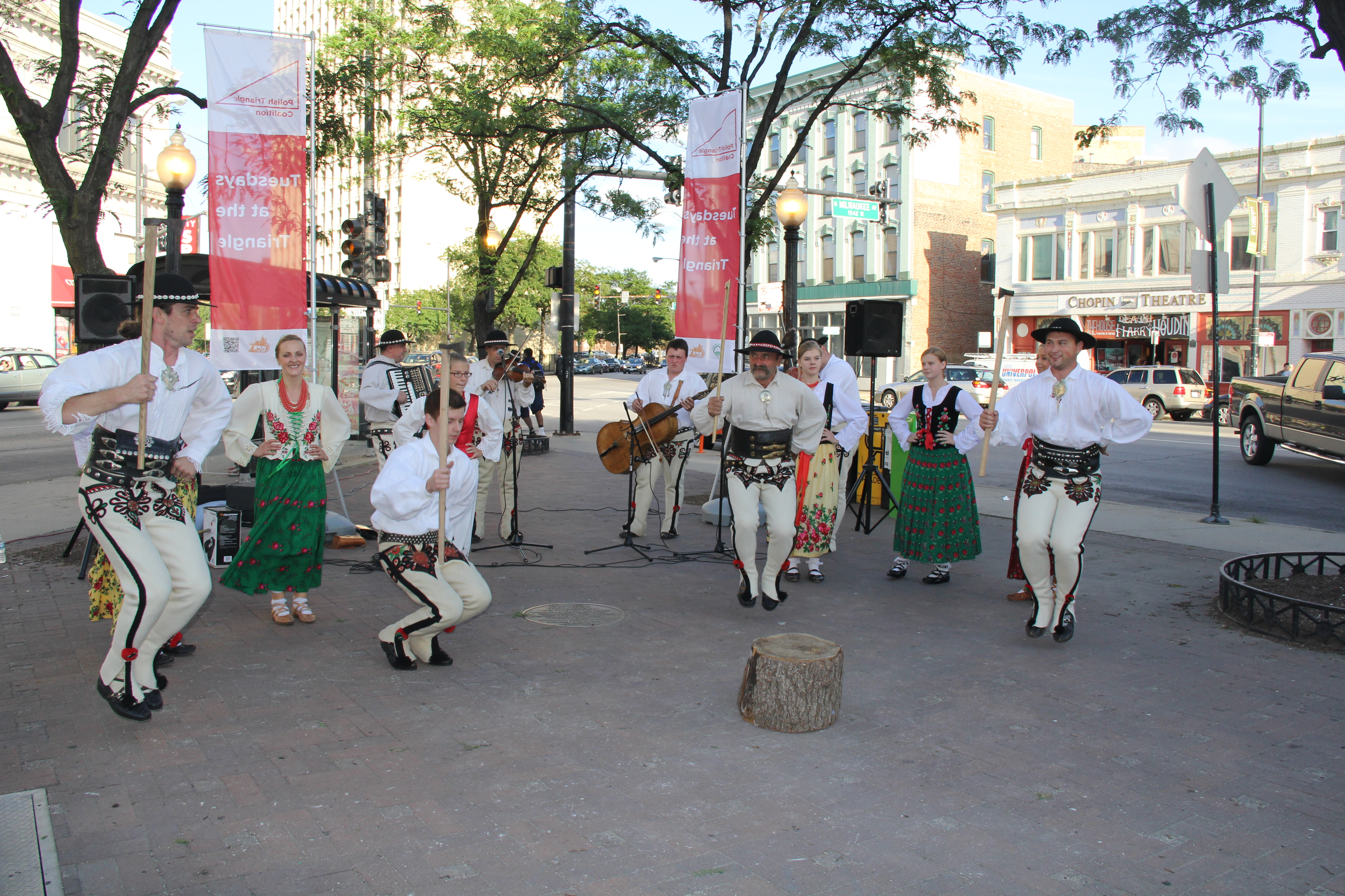 Polish Dancers at Tuesdays at the Triangle