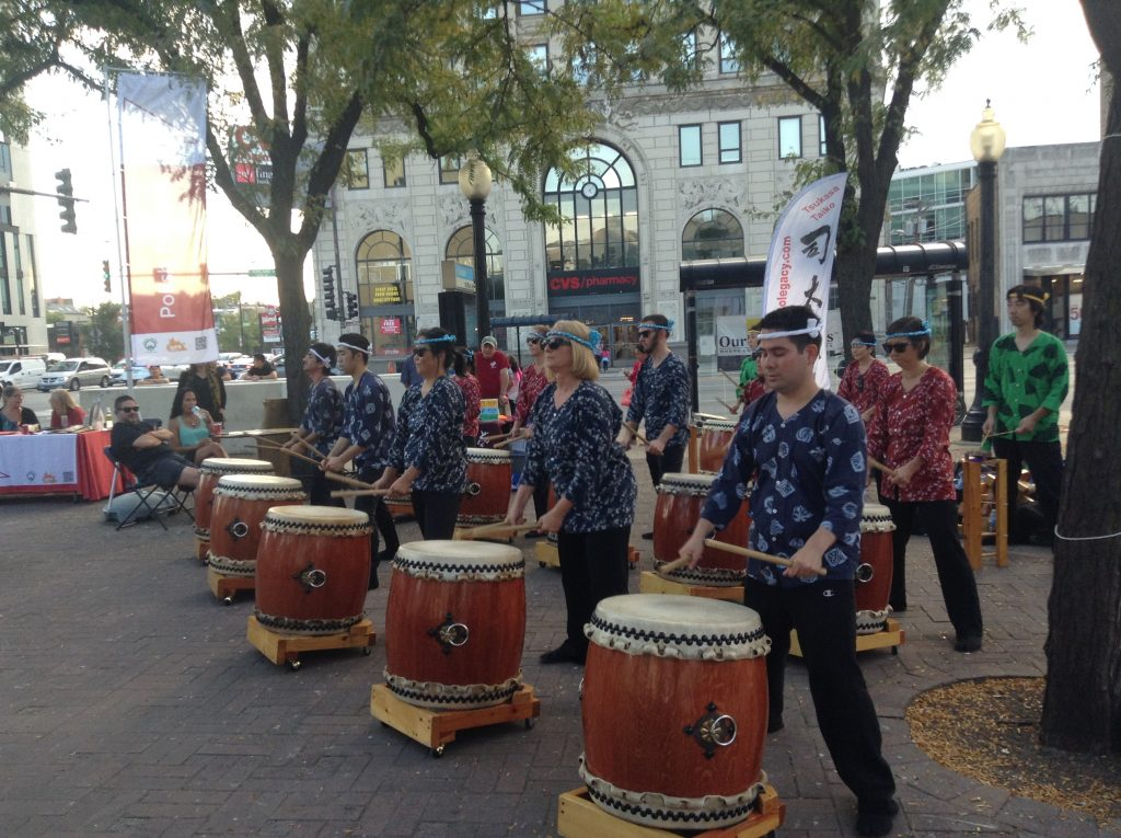 Taiko Legacy drummers.