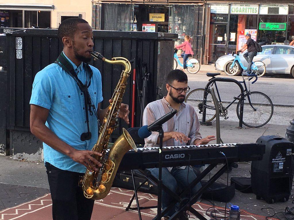 Michael Malis jazz duo